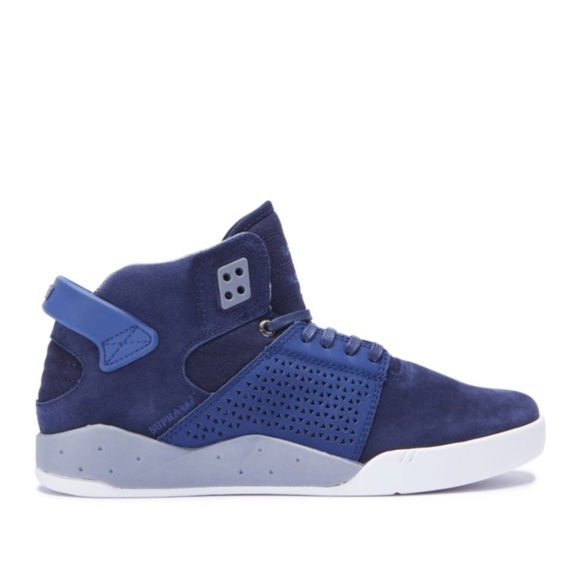 b5dc0801ac Supra Skytop lll Suede Navy Blue Sneakers Size 9. M_5c1417254ab633b2be1be1f2